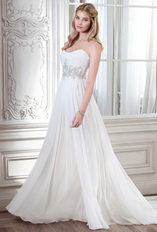 Picture Of enchanting classics 35 most gorgeous strapless wedding dresses  11