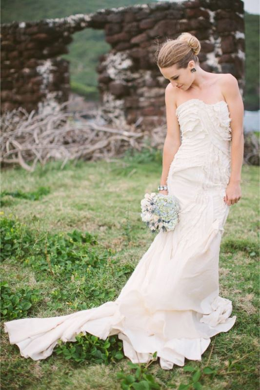 Picture Of enchanting classics 35 most gorgeous strapless wedding dresses  12