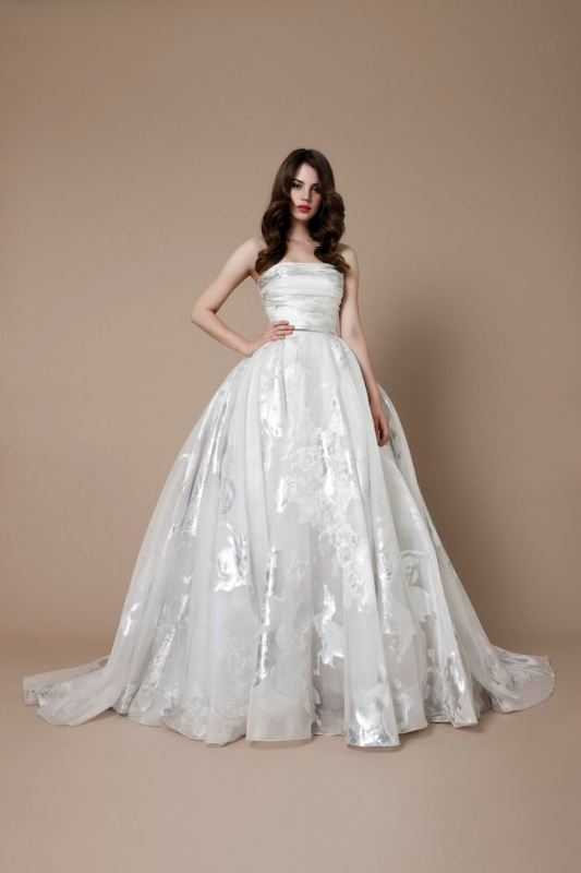 Picture Of enchanting classics 35 most gorgeous strapless wedding dresses  13