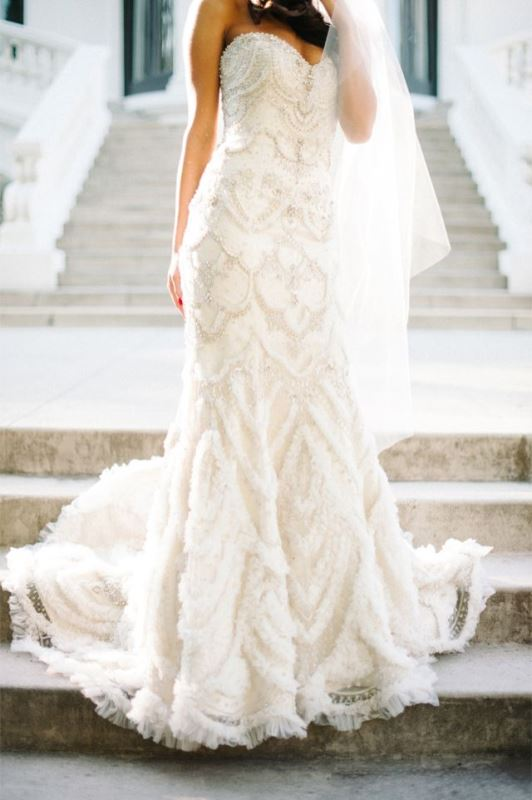 Picture Of enchanting classics 35 most gorgeous strapless wedding dresses  18