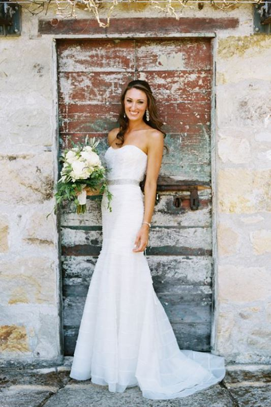 Picture Of enchanting classics 35 most gorgeous strapless wedding dresses  19