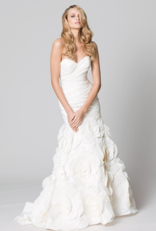 Enchanting Classics 35 Most Gorgeous Strapless Wedding Dresses
