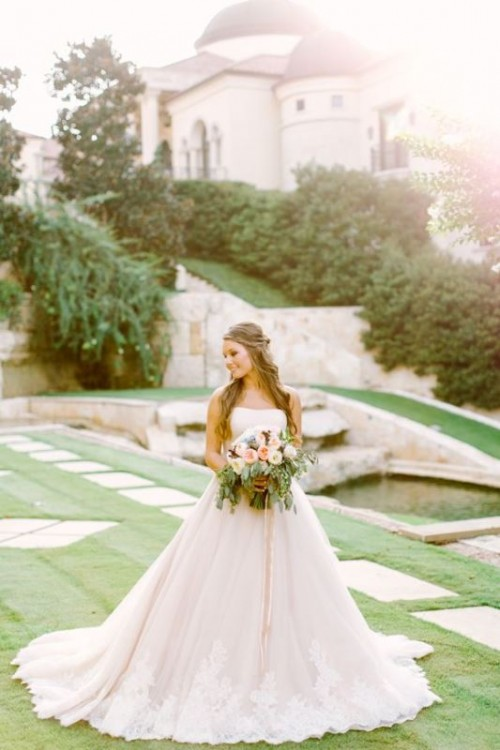 Enchanting Classics: 35 Most Gorgeous Strapless Wedding Dresses