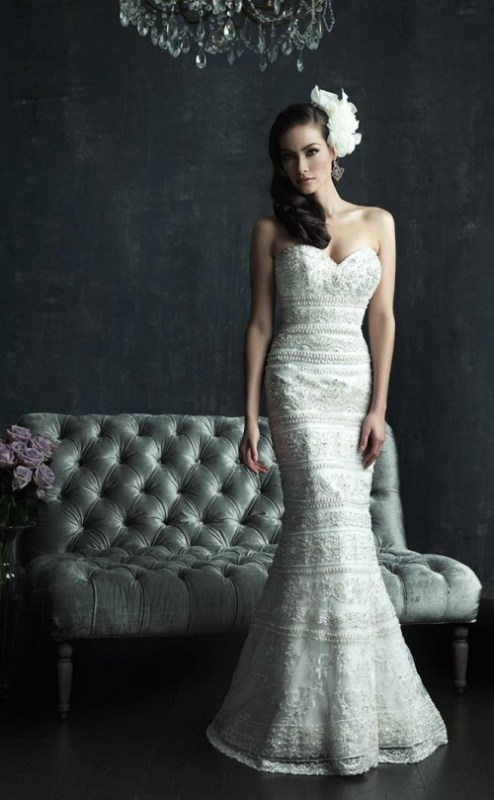 Picture Of enchanting classics 35 most gorgeous strapless wedding dresses  32