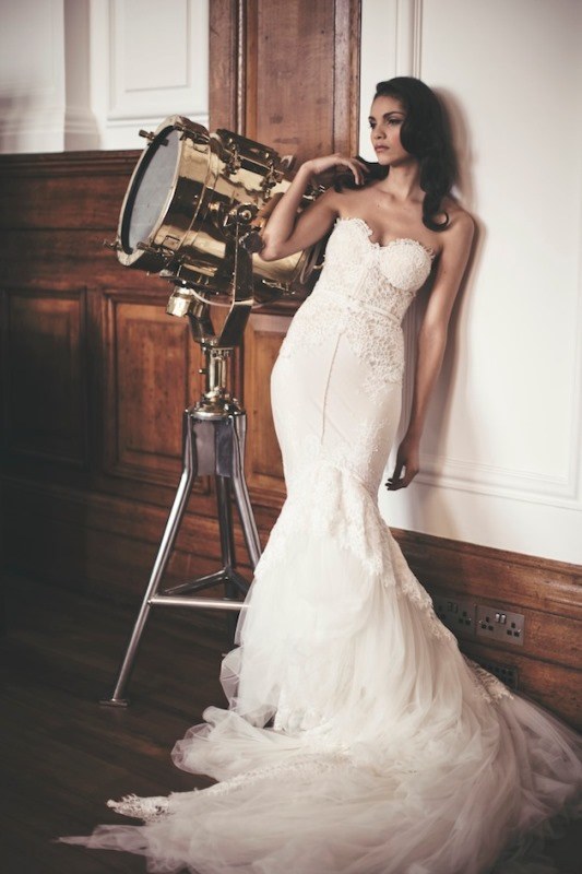 Picture Of enchanting classics 35 most gorgeous strapless wedding dresses  35