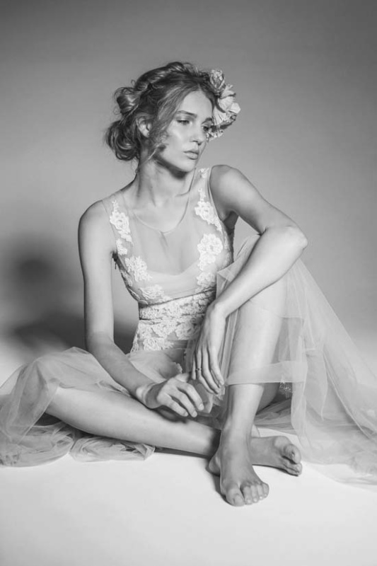 Picture Of enchanting crown of flowers fashion bridal inspiration  3