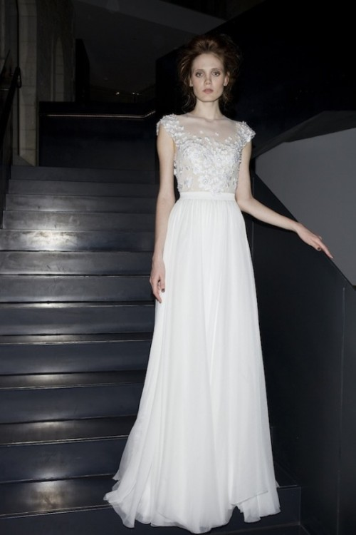 ethereal wedding dress ethereal 2013 2014 bridal gowns collection by mira 3935