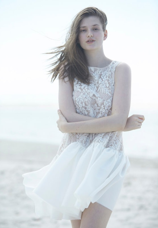 Picture Of ethereal wulfilas message bridal gowns collection from george wu  1