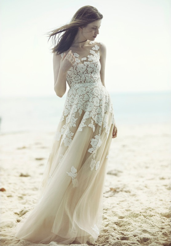 Picture Of ethereal wulfilas message bridal gowns collection from george wu  3