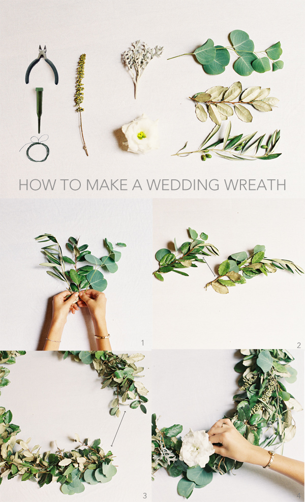 Evergreen Diy Wedding Wreath