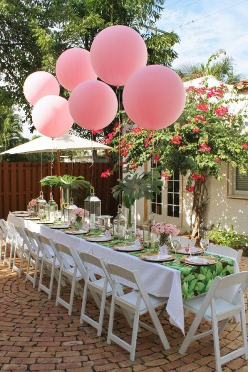 Charming Outdoor Bridal Shower Ideas Part - 4: Exciting Summer Bridal Shower Ideas To Have A Good Time