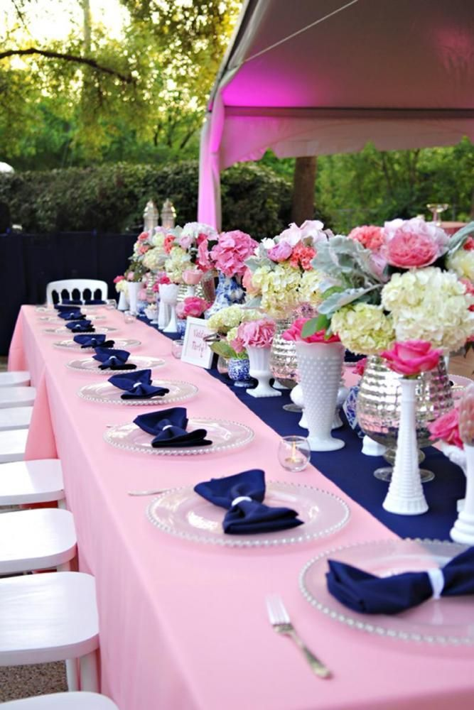 Navy Blue And Hot Pink Wedding Theme Image collections - Wedding ...