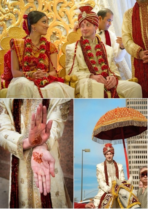 Exotic Indian Wedding Inspiration