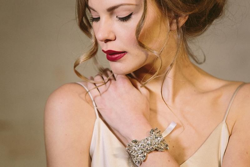 Picture Of exquisite debbie carlisle 2015 bridal accessories collection  10