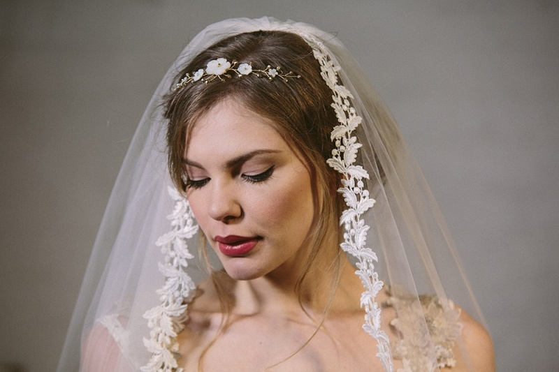 Picture Of exquisite debbie carlisle 2015 bridal accessories collection  2
