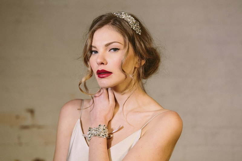 Picture Of exquisite debbie carlisle 2015 bridal accessories collection  5