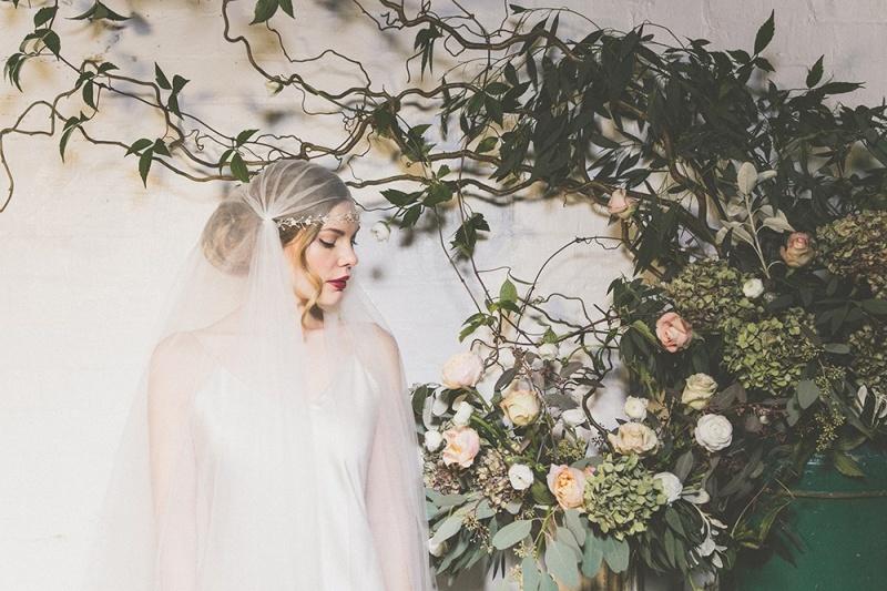 Picture Of exquisite debbie carlisle 2015 bridal accessories collection  7