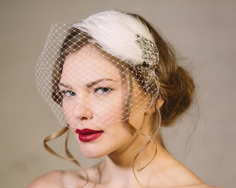 Picture Of exquisite debbie carlisle 2015 bridal accessories collection  8