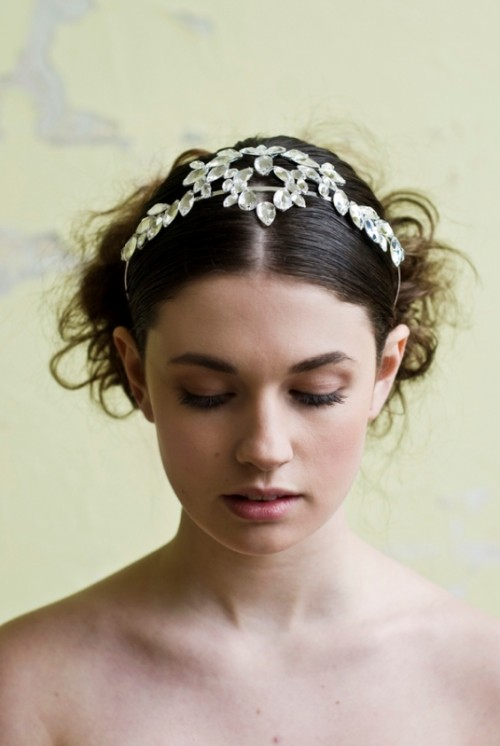 Exquisite Goddess Bridal Accessory Collection From NJ Headwear