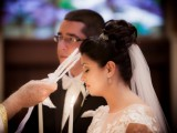 Exquisite Greek Orthodox Wedding In Ivory And White
