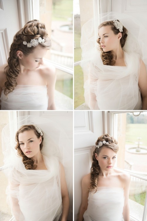 Exquisite Heavenly Headpiece Collection By Polly Edwards