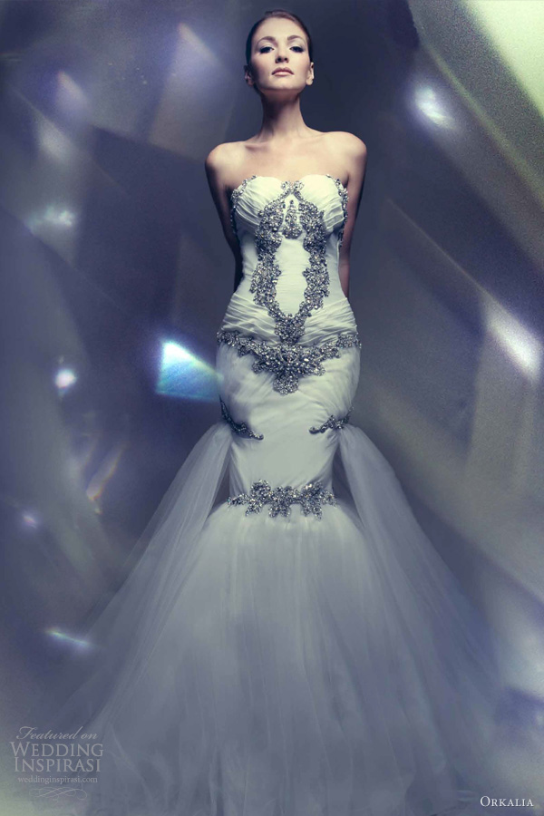 Couture Wedding Dresses Brigg : Exquisite orkali couture wedding dresses weddingomania