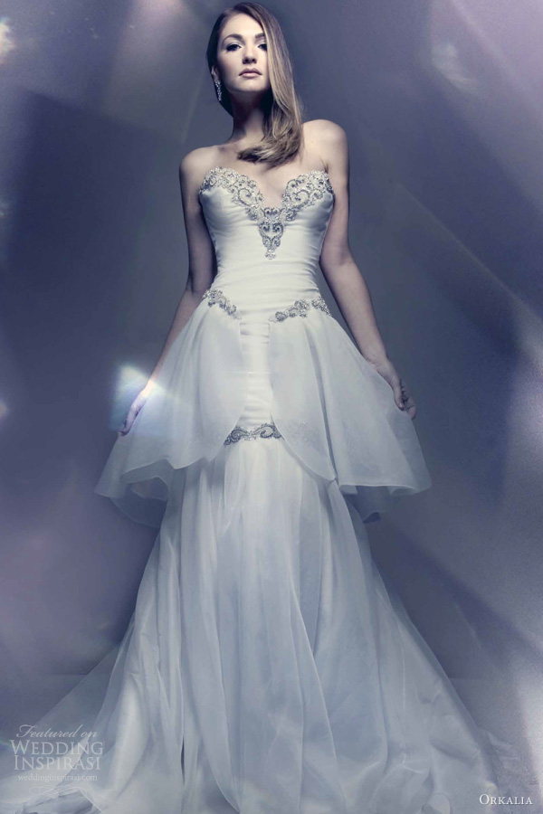 Exquisite Orkalia 2013 Couture Wedding Dresses - Weddingomania