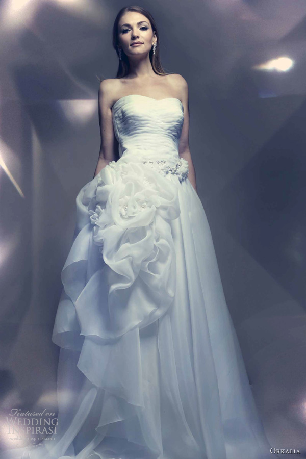 Couture Wedding Dresses Brigg : Picture of exquisite orkali couture wedding dresses