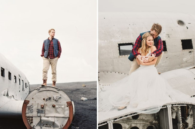 Picture Of extraordinary and stunning anniversary session in iceland  15