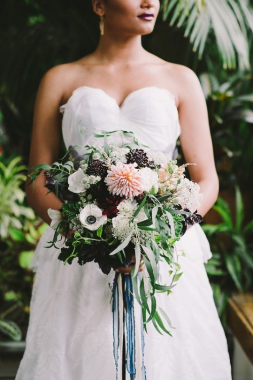 Extraordinary And Unique Mosaic Themed Garden Wedding Inspiration