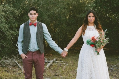 Extraordinary Rustic Plaid Wedding Inspirational Shoot