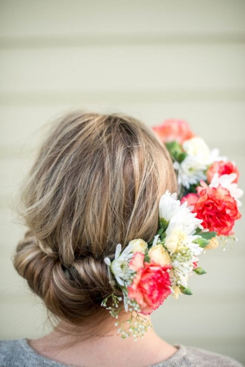 Fabulous DIY Bridal Flower Crown To Rock This Summer