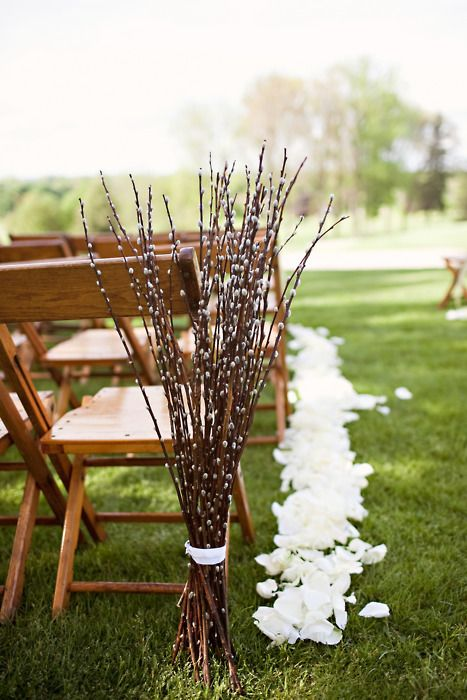 Picture Of fabulous spring wedding aisle decor ideas  14