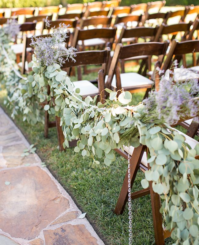 Picture Of fabulous spring wedding aisle decor ideas  8
