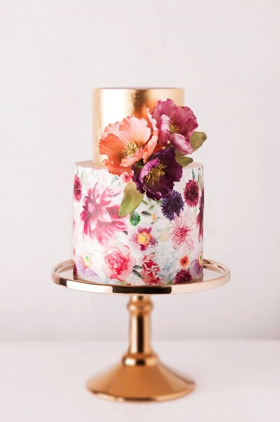 Picture Of fabulous spring wedding cakes that youll love  5