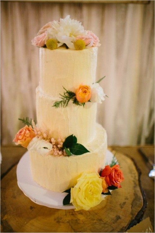 35 Fabulous Spring Wedding Cakes That You\'ll Love - Weddingomania