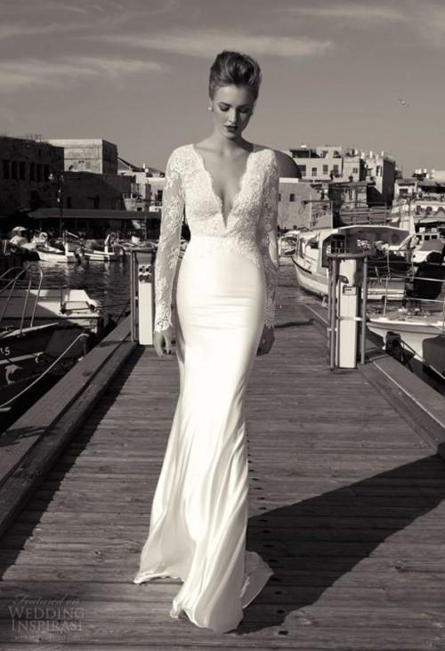 Rock chic wedding dresses