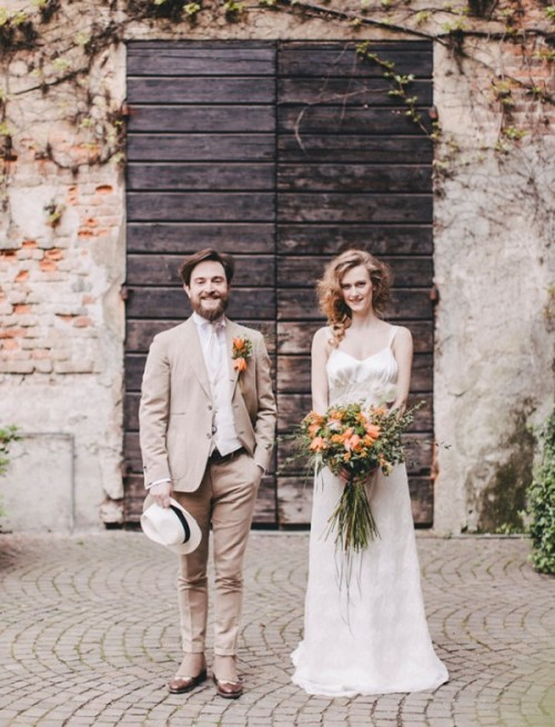 Fall Rustic And Retro-Inspired Italian Wedding Shoot