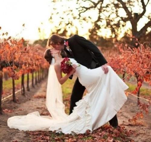 34 Fall Vineyard Wedding Ideas To Get Inspired