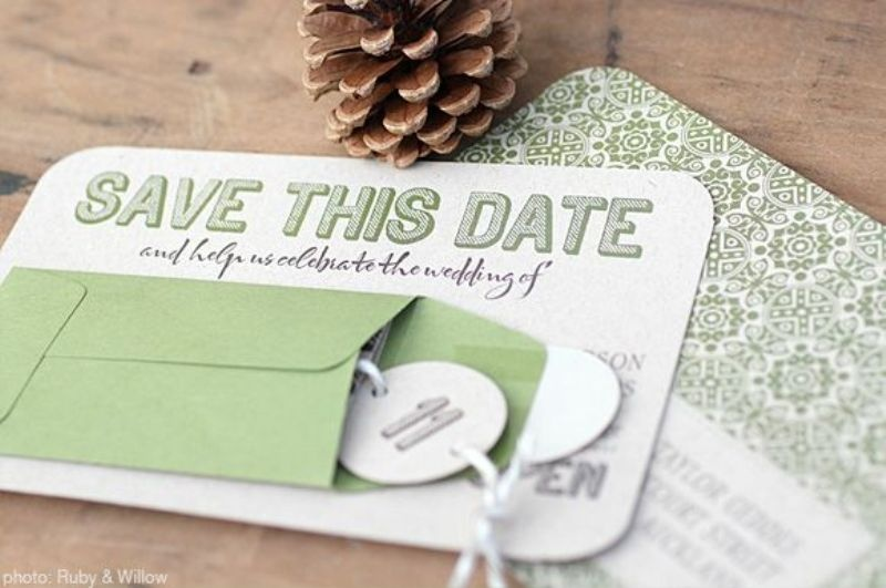 Picture Of Fantastic Interactive Wedding Invitations And Save The – Wedding Save the Date and Invitation Packages