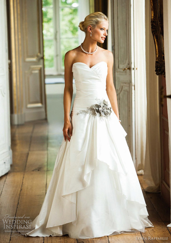 Fashionable linea raffaelli wedding dresses weddingomania
