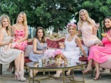 Feminine And Chic Pink Ombre Bridal Shower Inspiration