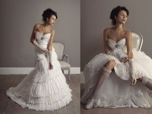 Feminine And Romantic Wedding Gowns By Elizabeth Stockenstrom