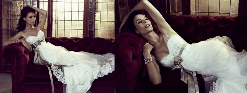 Feminine And Romantic Wedding Gowns By Elizabeth Stockenstrom