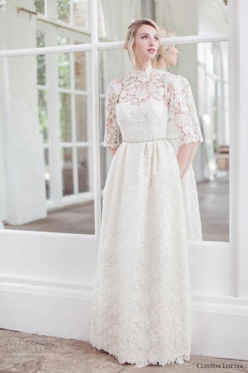 Feminine Clinton Lotter Wedding Dresses Collection