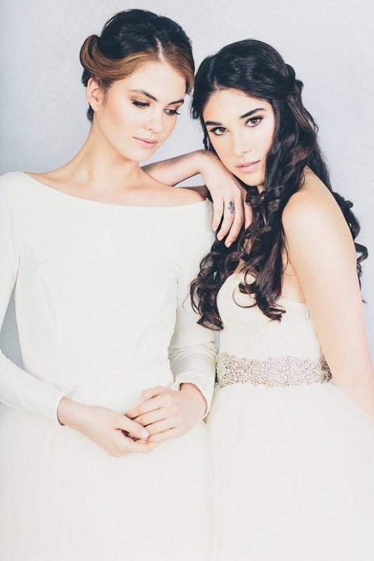 Picture Of feminine elizabeth stuart 2015 spring bridal dresses collection  10