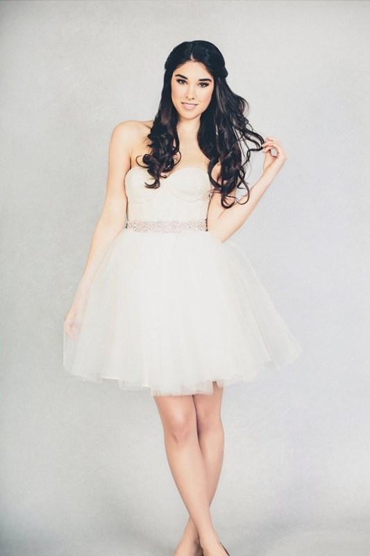 Picture Of feminine elizabeth stuart 2015 spring bridal dresses collection  5