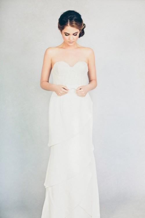Feminine Elizabeth Stuart 2015 Spring Bridal Dresses Collection