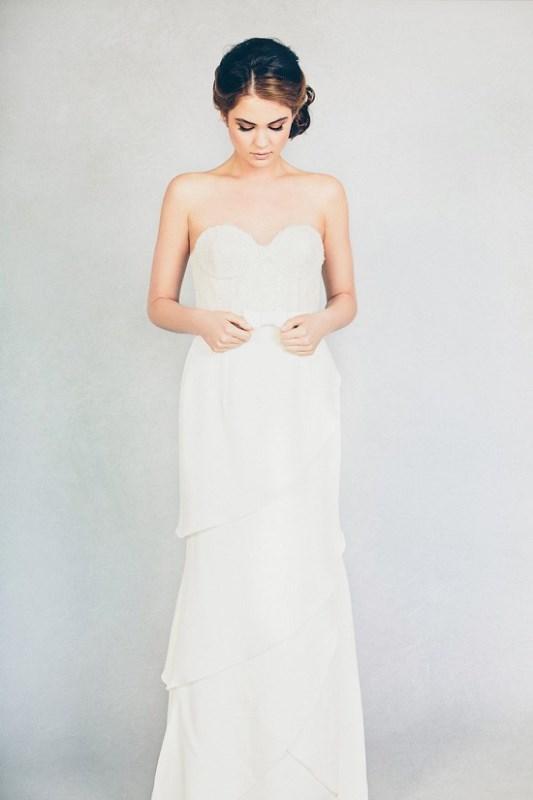 Picture Of feminine elizabeth stuart 2015 spring bridal dresses collection  6