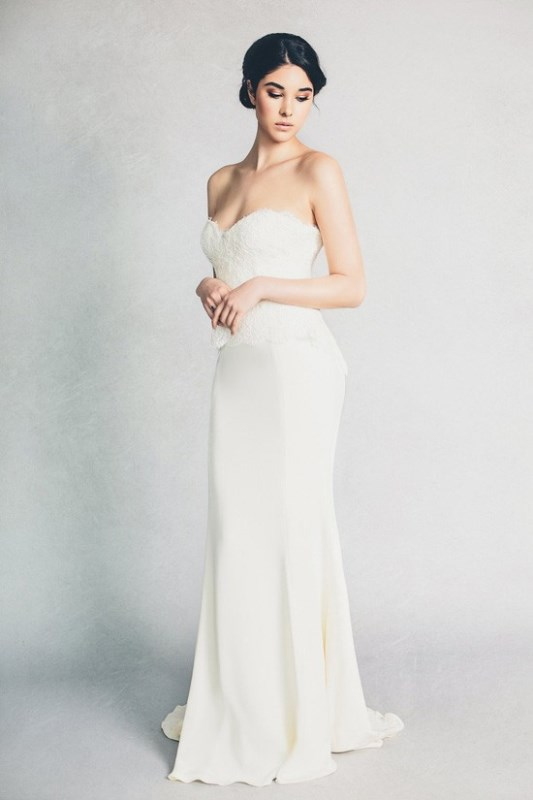 Picture Of feminine elizabeth stuart 2015 spring bridal dresses collection  7